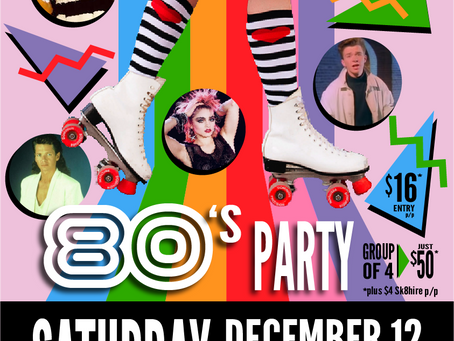 JOIN US FOR AN 80's PARTY!!