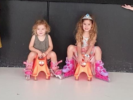 Tots Parties for little kids at Sk8house!