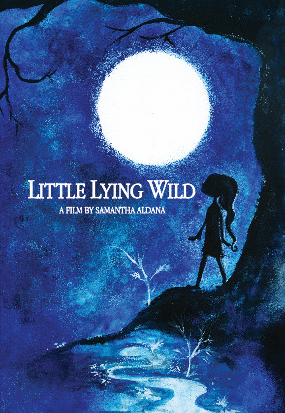Little Lying Wild Poster Aldana