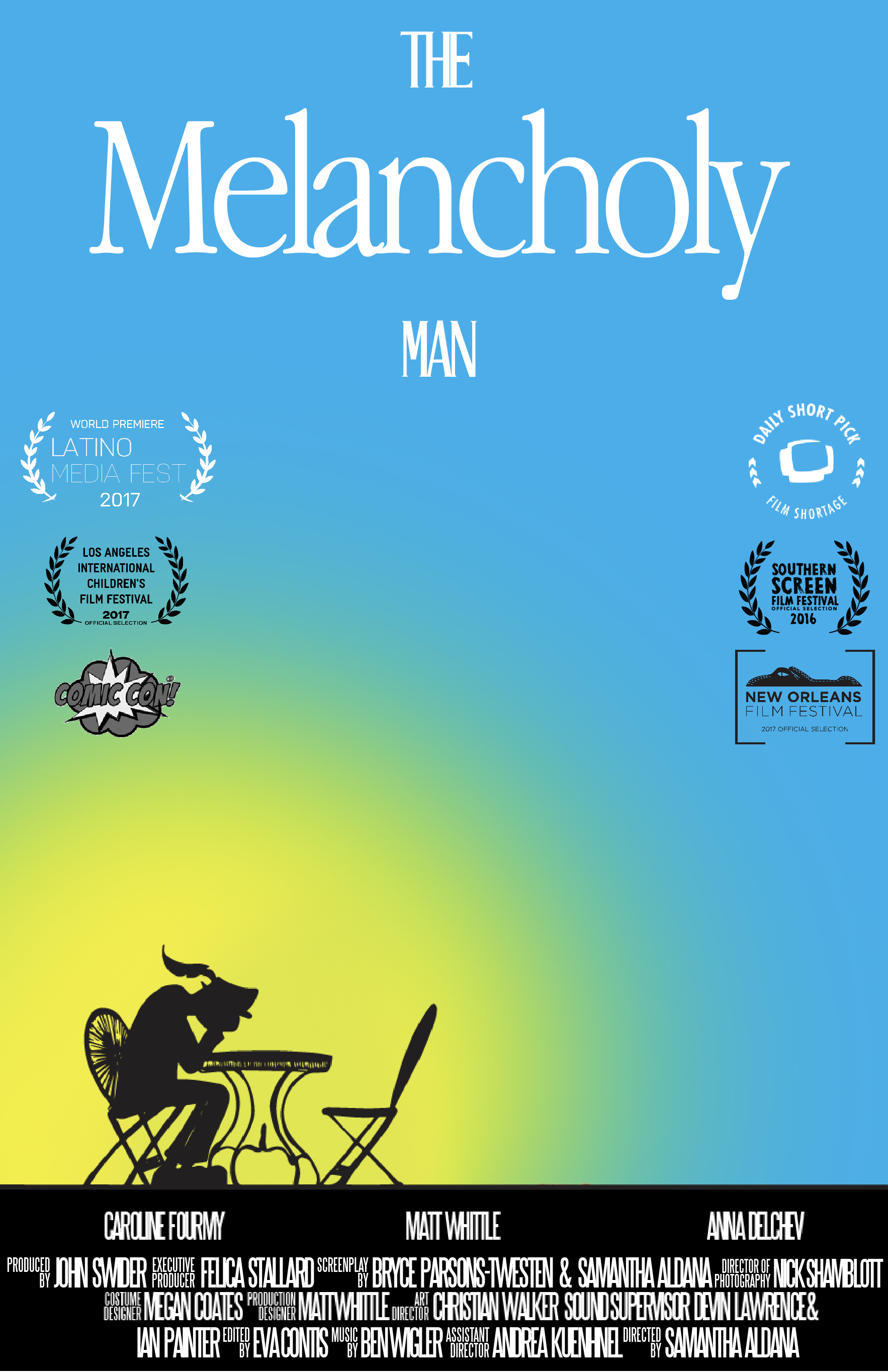 The Melancholy Man Poster