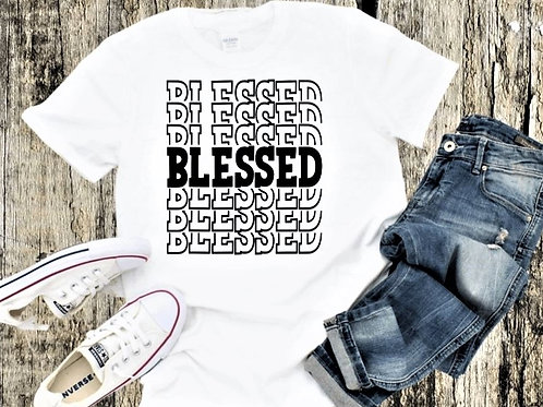 """Blessed"" Short-Sleeved Tee"