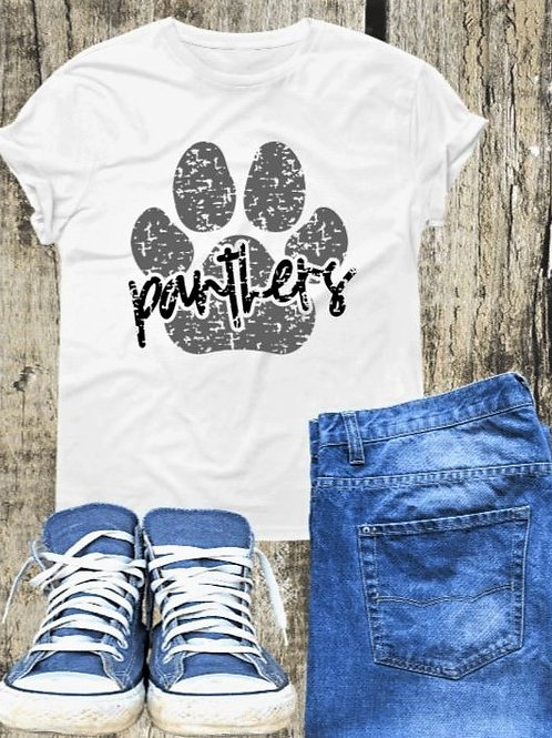 """""""Panther Paw"""" Short-Sleeved Tee"""
