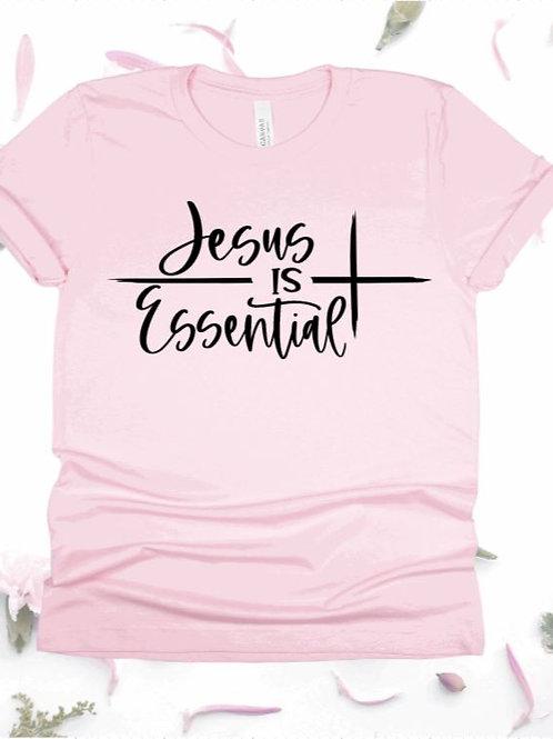 """""""Jesus Is Essential"""" Short-Sleeved Tee"""