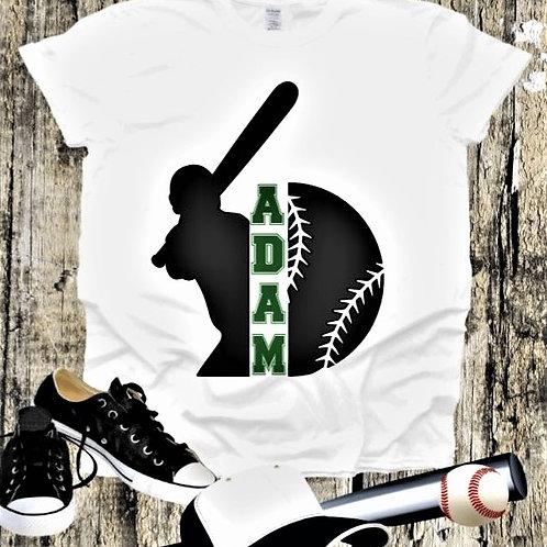 """""""Baseball Custom Frame"""" Short-Sleeved Tee"""