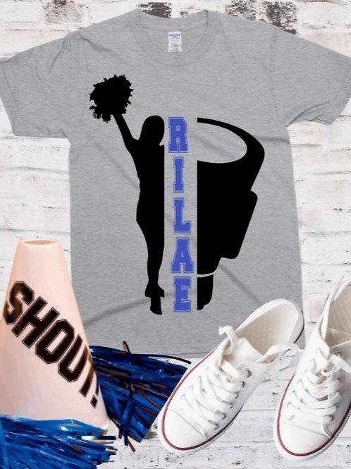 """Cheerleader custom frame"" Short-Sleeved Tee"