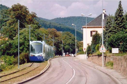 Tram-train au Heissenstein