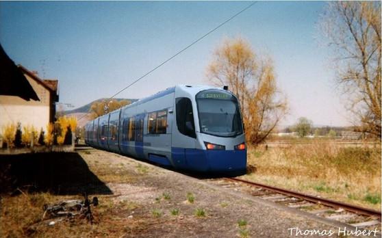 Tram-train à Soultz