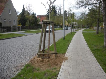 Straßenbau in Schöneiche
