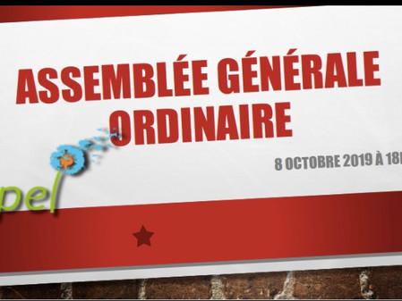 Notre Assemblée Générale, en image !!!