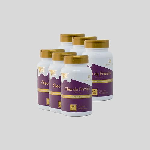 Óleo de Prímula - 9 meses de tratamento - 6 frascos R$ 2,44 por dia