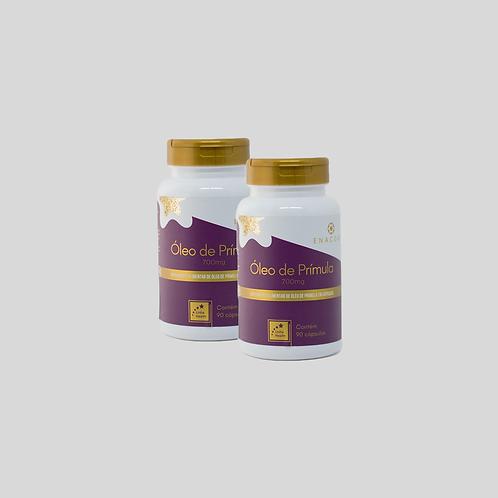 Óleo de Prímula - 3 meses de tratamento - 2 frascos por R$ 3,20 por dia