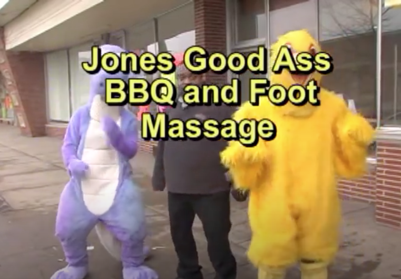 Jones Good Ass BBQ & Foot Massage