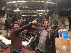 Pedro And Ramiro at Studio 8H