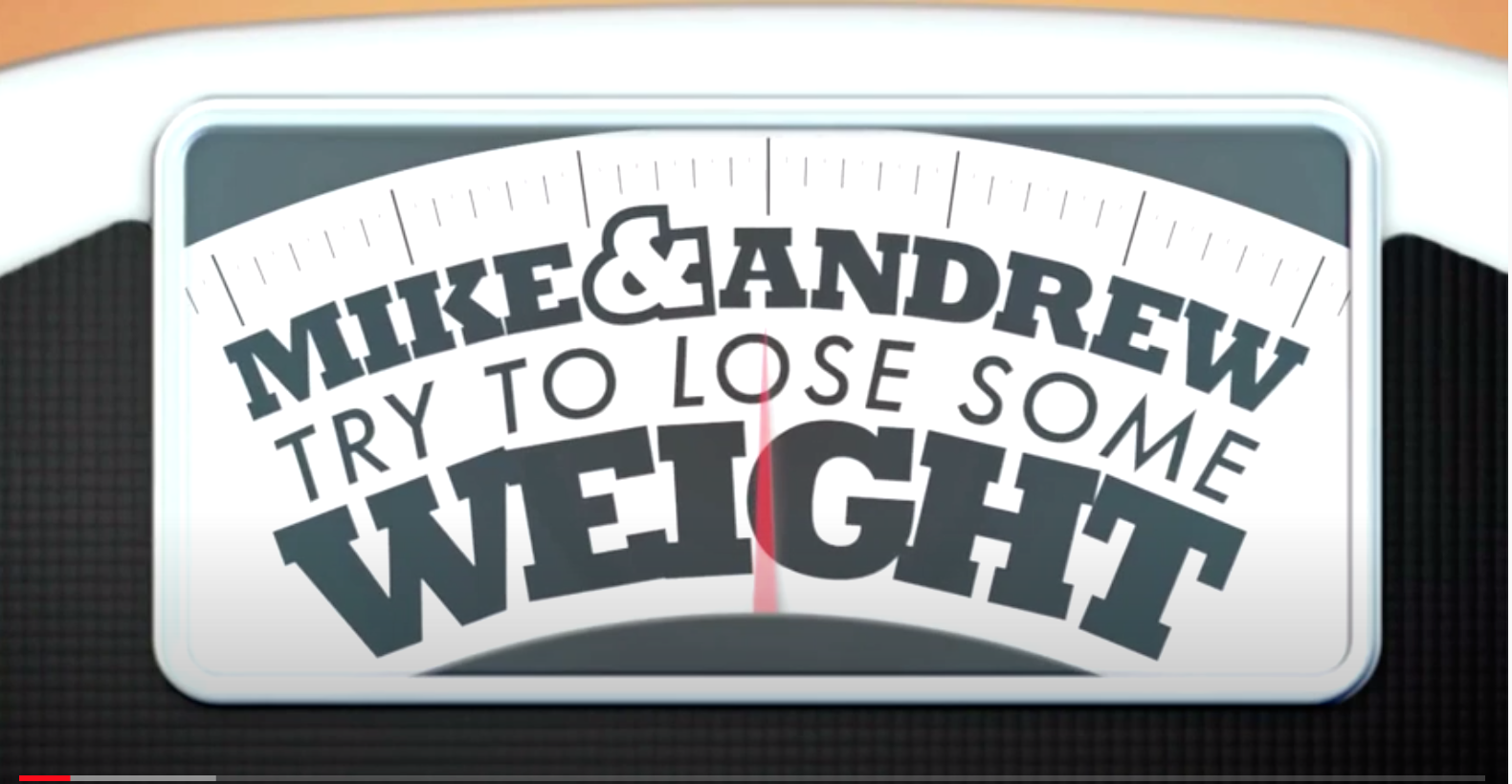 Mike & Andrew Try to Lose Some Weight