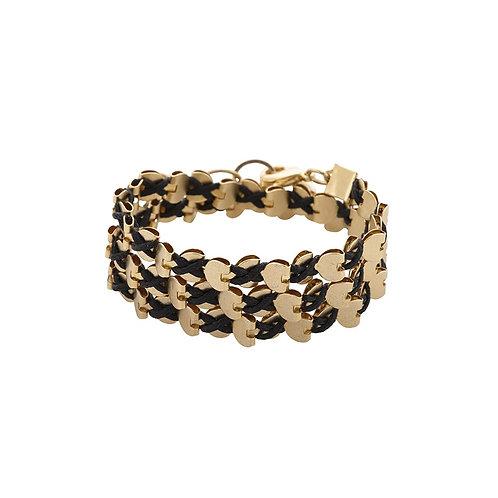 Gold Wrap Hearts Necklace/Bracelet
