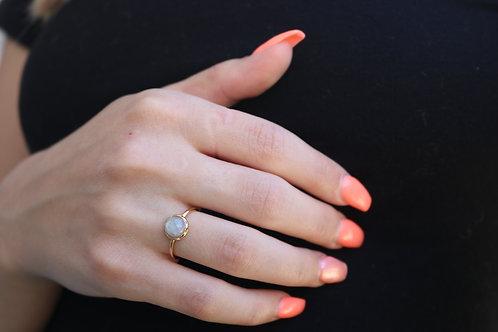 Grey Opal Ring
