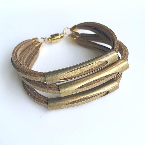 Triple Tube Bracelet