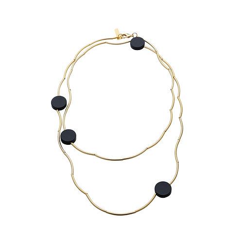 Gold Long Vault Necklace