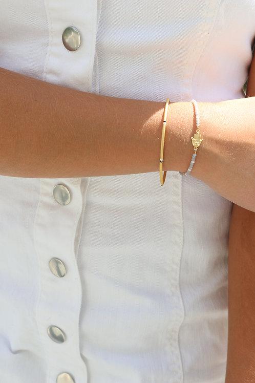 Hamsa Seed Bracelet