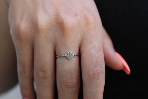 Strip pattern Ring