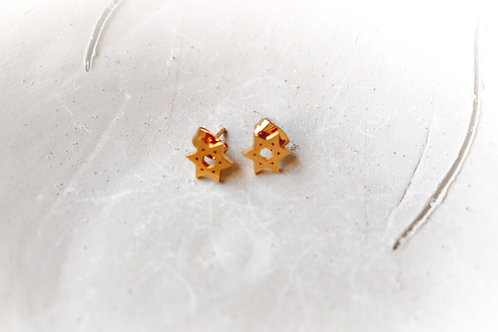 Jewish Star Studs Earrings