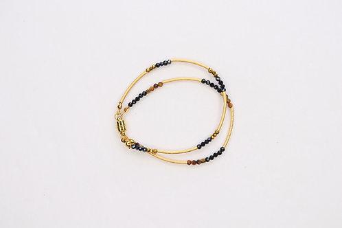 Double wrap tubes Bracelet