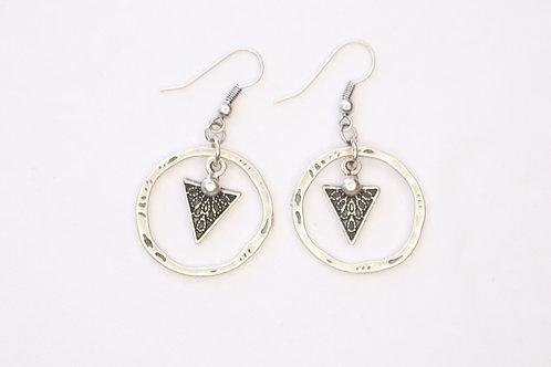 Tribal Circled Earrings