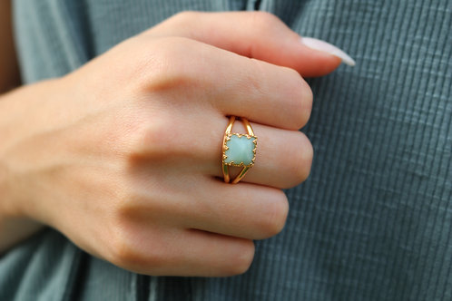 Gold Filled Gemstone Ring