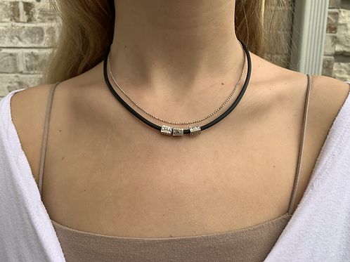 Beau Rubber Necklace