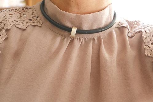 Circle Slide Pendant Necklace