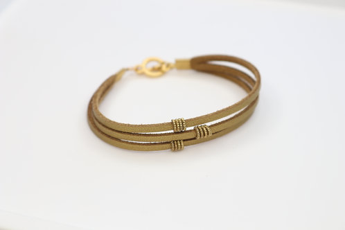 Circle Slide Charm Bracelet