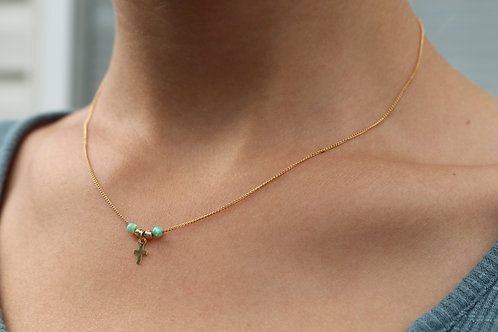 Cross Gold-Filled Necklace