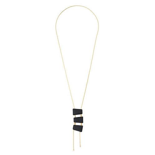 Wooden Tie Necklace
