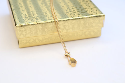 Hamsa Gold Plated Necklace