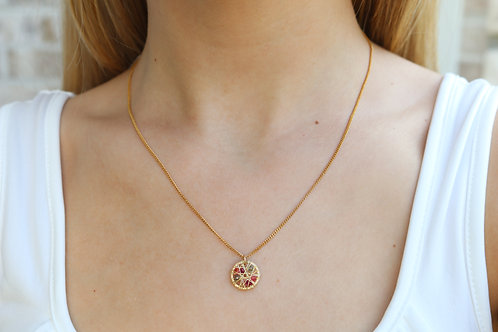 Crystal Nest Necklace