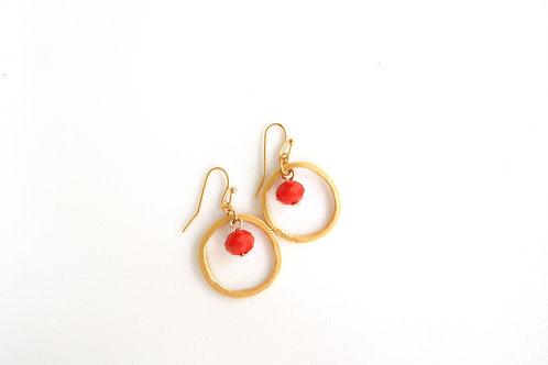 Red Eye Earrings