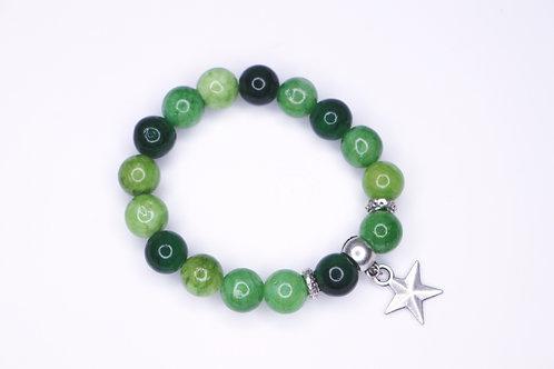 Lime Gemstone Bracelet