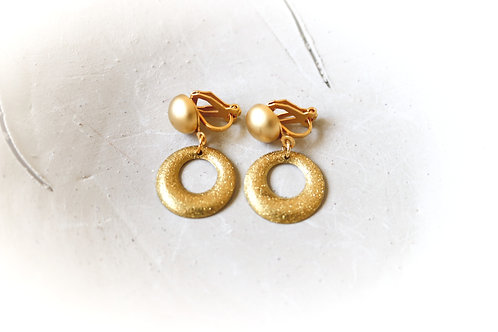 Clip On Sparkle Earrings