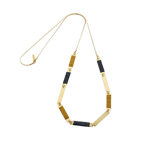 Rectangles Wrap Necklace