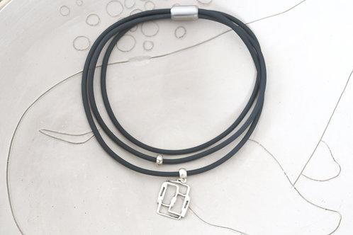 Triple Rectangle Necklace