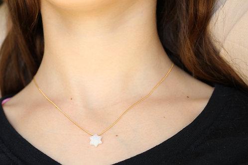 Druze Jewish Star Necklace