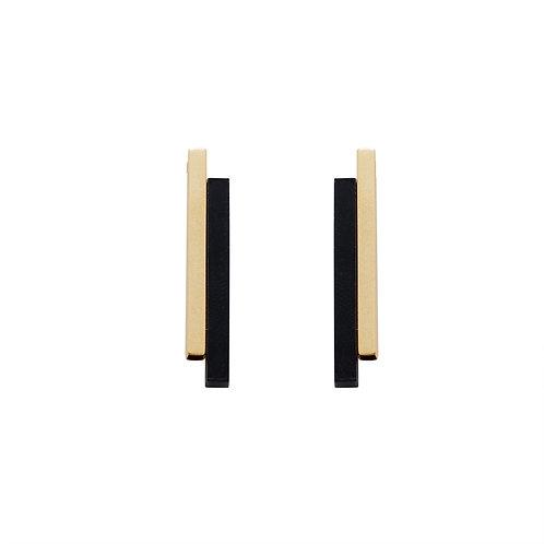 Glory Gold Bar Earring