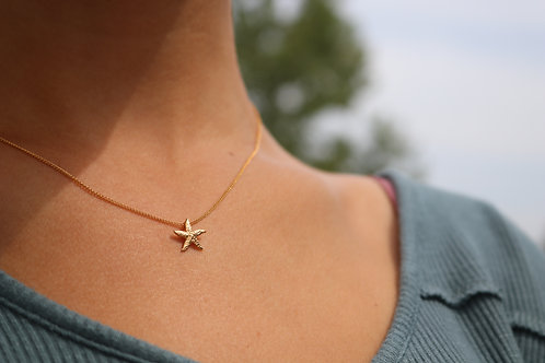 Gold-Filled Starfish  Necklace