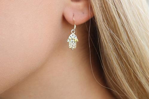 Alef Lamed Daled Earrings