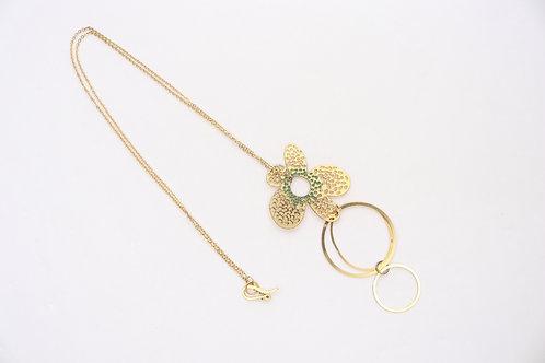 Mooi Flower Long Necklace