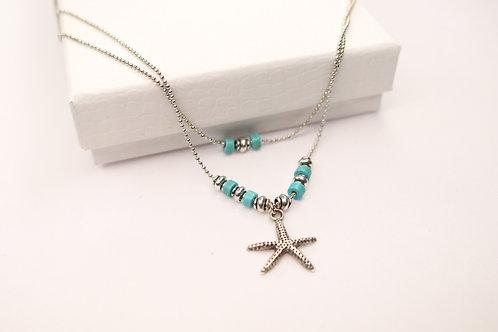 Spring Starfish Necklace