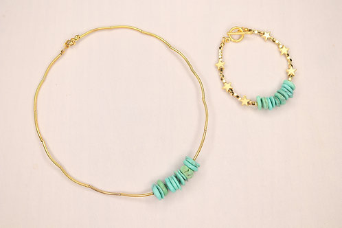 Turkiz Sunshine Necklace