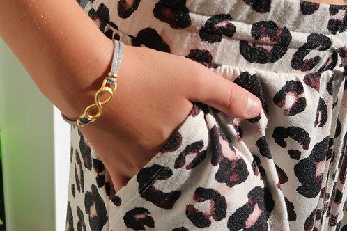 Infinity Gold Plated Bracelet