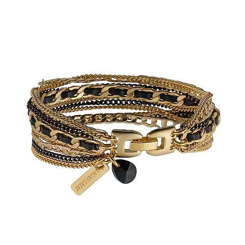 Gold Multi Chain Bracelet