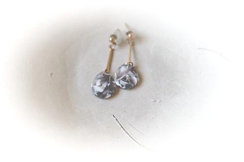 Marble Style Earrings
